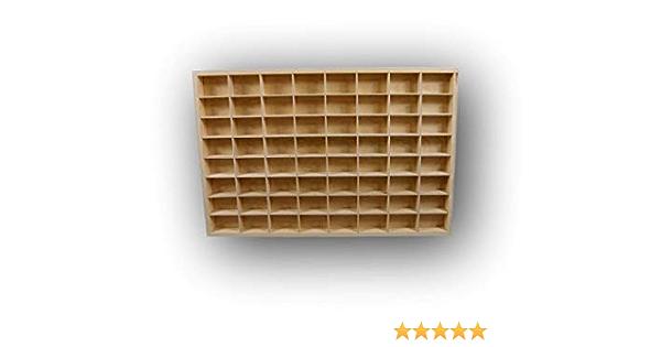 Dekoralove HotWeels 80 x 40 cm Organizador de Madera para cajones