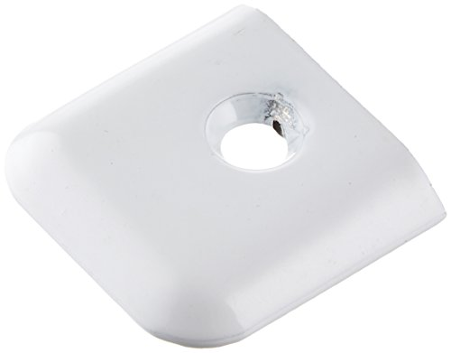 AP Products 021-39201 End Cap (White), 10 Pack ()