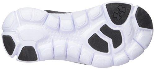 Mens Da Uomo In Armatura Nera Bungee 3k Sneaker In Pizzo Nero (001) / Bianco
