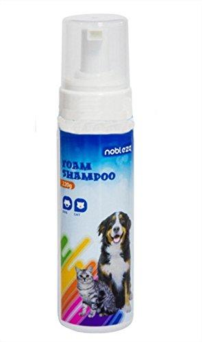 Nobleza 021567 - Champú en espuma para perros o gatos. Contenido: 220 gr.: Amazon.es: Productos para mascotas
