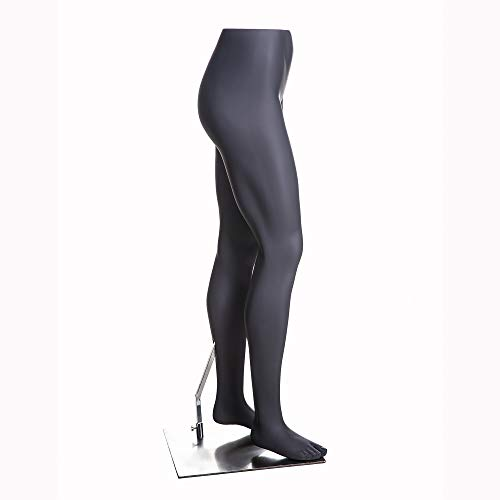 (MZ-HEF22LEG) High end Quality. Eye Catching Female Headless Mannequin Leg, Athletic Style. Standing Pose. by Roxy Display (Image #1)