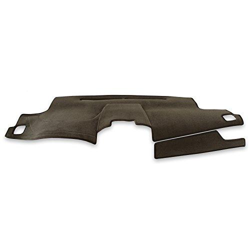 Coverking Custom Fit Dashcovers for Select Infiniti FX-35/45 Models - Velour (Taupe) (Infiniti Fx 35 Mats)