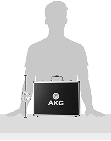 AKG Drumset Premium Kit de microphone pour batterie