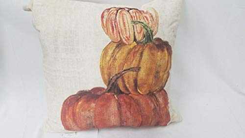Pottery Barn Market Stacked Pumpkin Pillow Cover 20