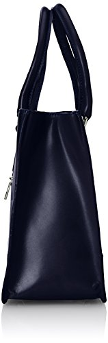 élégante 36x26x18cm véritable 100 Italy CTM classique Blu italien femme cuir de Made de in et sac Bleu style Pzz7wxSXq