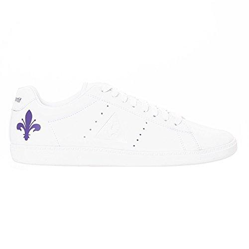 Le Coq Sportif Courtone Fiorentina Optical White