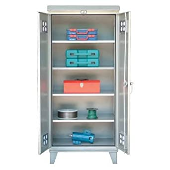 Unique Outdoor Storage Cabinets with Shelves