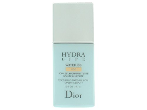 Dior Tinted Moisturizer (Christian Dior Hydra Life Water SPF 30 BB Moisturizing Tinted Aqua-Gel Moisturizer for Women, No. 010, 1 Ounce)