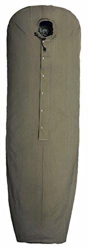 Nordisk Schlafsacküberzug Sleeping bag cover green