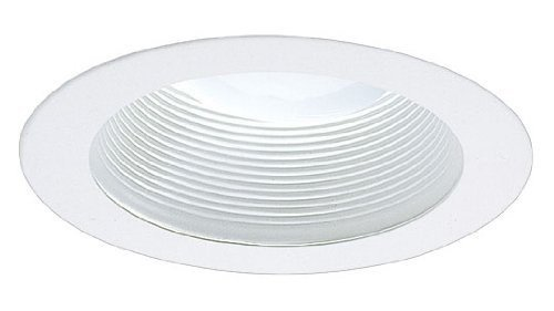 5 Inch White Baffle Trim