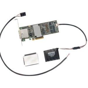 External Cache (LSI Logic MegaRAID 9286-CV-8e 8-port SAS Controller - Serial ATA/600 - PCI Express 3.0 x8 - Plug-in Card - RAID Supported - 0, 1, 10, 50, 60, 5, 6 RAID Level - 2 Total SAS Port(s) - 2 SAS Port(s) Internal - 2 SAS Port(s) External Flash Backed Cache - LSI00333)