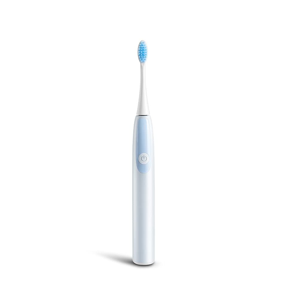 Professional Rechargeable Electric Ultra Whitening Smart Sonic Power Toothbrush Kit Wireless Induction Charging Base with Duponts Replacement Brush Heads for Adult and Kids Toothbrushes Home Use