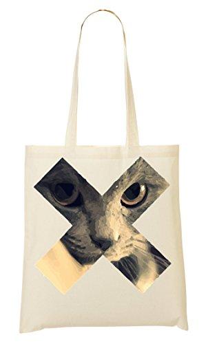 X Sweet Cat Bolso De Mano Bolsa De La Compra