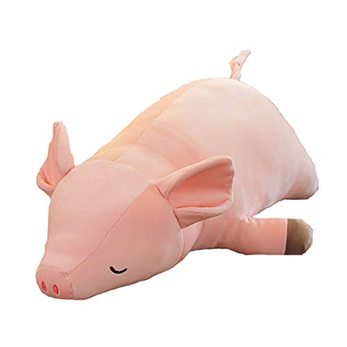 (Starte Cute Piggy Stuffed Animal Pillow for Kids The Pig Plush Toy Cushion Toys Gift for Baby Girls Pig Doll)