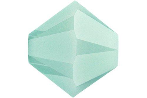 Swarovski Crystal Bicones 5301 6mm Mint Alabaster (20)