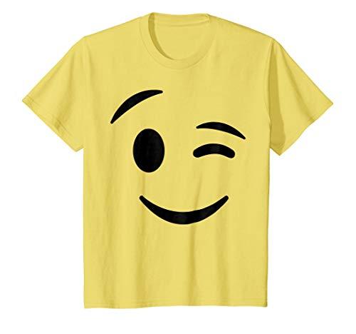 Kids Halloween Emojis Group Matching Costume Shirt -