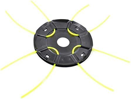 Domybest - Cabezal de desbrozadora de 4 hilos para cortacésped: Amazon.es: Bricolaje y herramientas