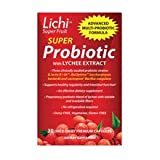 Lichi Super Fruit LactoSpore Probiotic Dietary Supplement Tablets 30.0 ea. (Quantity of 3)