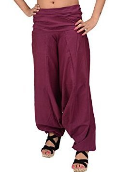 Skirts & Scarves New Cotton Yoga Pants for women(Purple)