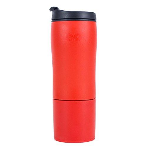 Mighty Mug Biggie Tumbler, The Travel Mug That WonÕt Fall, with BPA-free Plastic, Red, 18 oz