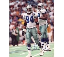 Charles Haley Dallas Cowboys 16X20  1095 Autographed Hand Signed Photo