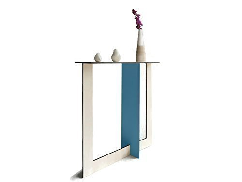 Amazon For 28x7 Inches Wood Narrow Console Table Hallway Based On Fibonacci Series And Golden Ratio In Many Colors As White Slim Contemporary Design Behind Sofa Tables Small Spaces Entry Radiator