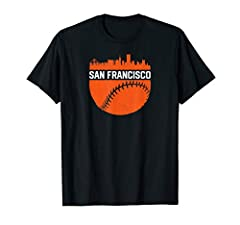 Featuring a cool San Francisco skyline on a baseball, this makes a great Christmas, birthday or anniversary present for fans who love the city, baseball and home runs. Represent your town in the best San Francisco is home graphic!