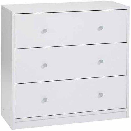 Modern and Elegant Style 3-Drawer Dresser Eco-Friendly - Style 3 Drawer Chest
