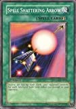 Yu-Gi-Oh! - Spell Shattering Arrow (SDZW-EN018) - Structure Deck Zombie World - 1st Edition - Common