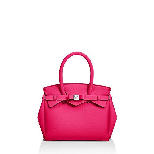À Sac My Pour Main 26x23x16cm Save Bag Fuchsia Femme qPvEwyt6c