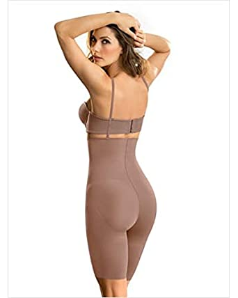 bc2b7a703 Leonisa Undetectable Edge High Waist Shaper Short at Amazon Women s  Clothing store
