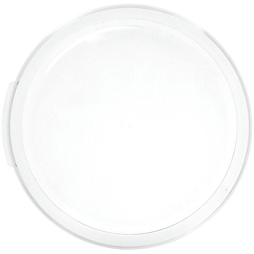 Cambro Camwear 12, 18 and 22 qt Clear Plastic Round Lid - 13