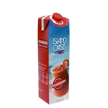 - Island Oasis SB3X Premium Strawberry Drink Mix Bottle, 1 L