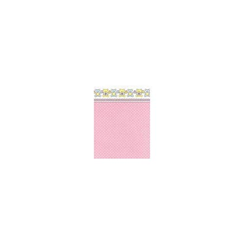 Dollhouse Miniature 3 Pack Wallpaper: Mini Bears, Pink
