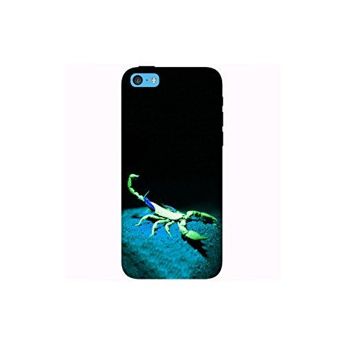 Coque Apple Iphone 5c - Alien Scorpion Vert