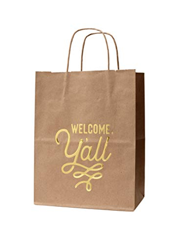 6 Welcome Gift Bags with Welcome, Y