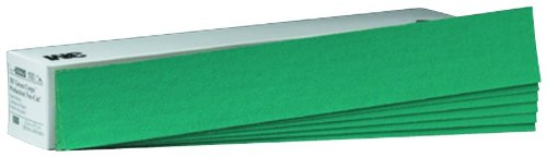 3M 02222 Green Corps 2-3/4'' x 17-1/2'' 36E Grit Production Resin Sheet (Pack of 5) by 3M (Image #1)