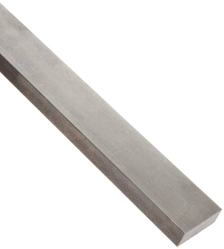 "1018 Carbon Steel Rectangular Bar, Unpolished (Mill) Finish, Cold Finished Temper, ASTM A108, 3/16"" Thickness, 4"" Width, 36"" Length"