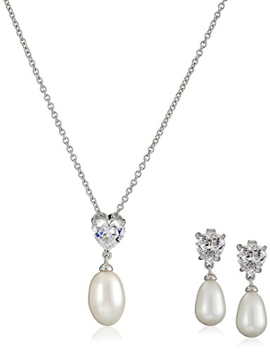 platinum-plated-sterling-silver-heart-cubic-zirconia-and-freshwater-cultured-pearl-necklace-and-earr