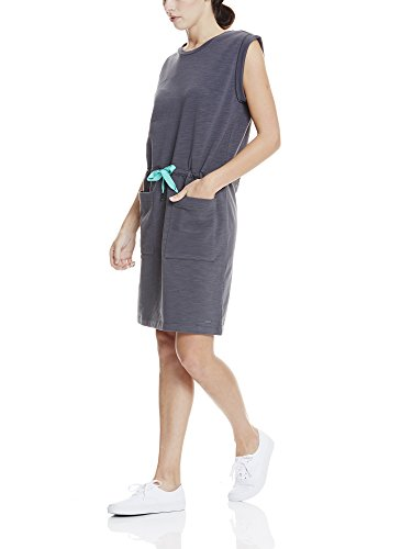 Grigio Dress Gy11214 Sweat Drawcord Vestito Donna asphalt Bench x4XFZ