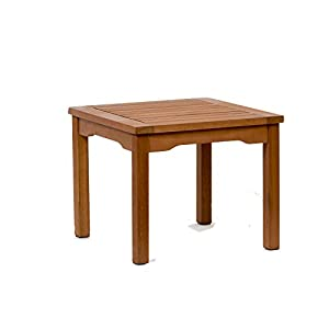 Amazonia Murano Eucalyptus Square Side Table
