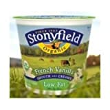 Stonyfield Farm Organic Low Fat French Vanilla Yogurt, 6 Ounce - 12 per case.