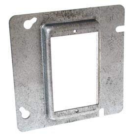 Hubbell 842 4-11/16'' Square Mud-Ring, For 1 Device, Raised 1-1/4'' - Pkg Qty 25 (842)