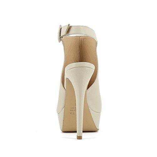 Evita Nanda Beige Sandales Clair Shoes pour femme rpwrvq