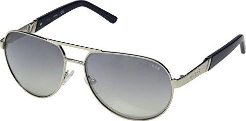 GUESS Factory Men's Metal Aviator Sunglasses