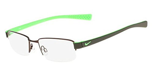 Eyeglasses NIKE 8160 220 WALNUT/GREEN - Glasses Frames Nike