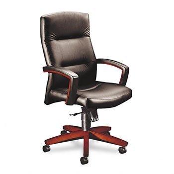 Hon- 5000 Series Park Avenue Collection Executive High Back Swivel/Tilt Vinyl Chair ,Hi ,Exec ,Bk/My - Exec High Back Swivel Chair