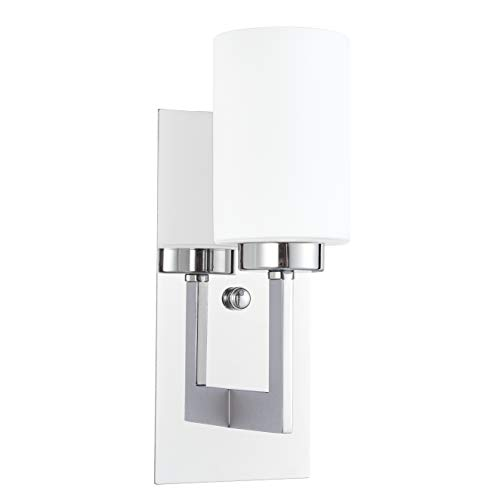 Brio Wall Sconce Light Fixture | Chrome Bathroom Wall Fixtures LL-WL151-PC