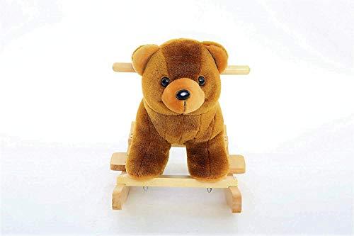 - DanyBaby Ultra Soft Rocking Animal Toy Rocking Plush Teddy Bear-ASTM Safety Approved