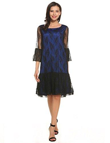 Buy below knee length dresses with sleeves - 2